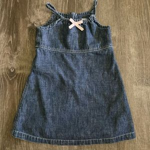 Baby Gap Denim Dress Size 3 yrs